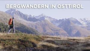 Bergwandern Osttirol